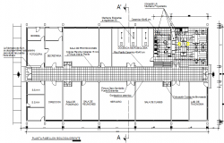 Architect design plan detail dwg file