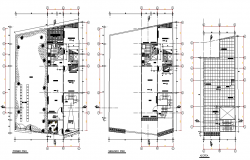 Architect house plan layout file