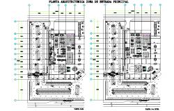 Architect house planing autocad file