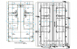 Architect house planning autocad file