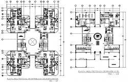 Architect plan detail dwg file