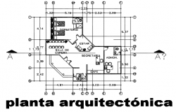 Architect planning detail dwg file