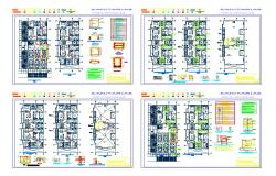 Architectural Apartment Design Lay-out detail