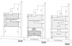 Architectural Site Plan CAD Drawing