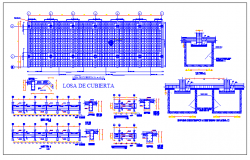 Architectural and structural design of a college dwg file