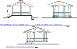 Architectural cahtri having capacity of seating 5 to 6 person dwg file