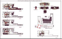 Architectural residential dwg