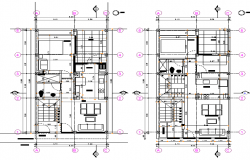 Architecture Apartment Layout plan