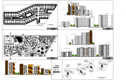 Architecture Apartment Project detail dwg file
