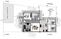 Architecture Bungalow Ground Floor Plan