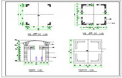 Architecture Pavilion Detail DWG file