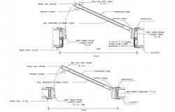 Architrave Door Detail AutoCAD File
