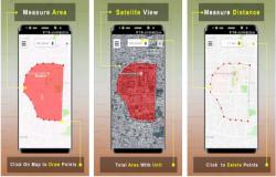 Area Calculator For Land Gps Measurement