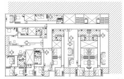 Attached House CAD File