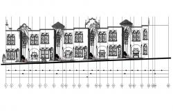 Attached House Elevation Design
