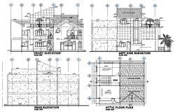 Attic Apartment CAD Drawing Download