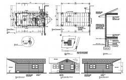 Attic Bedroom Plan DWG File
