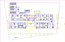 Attorney general offices 2 storeys dwg file