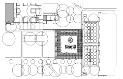 Auditorium Hall Design Elevation dwg file