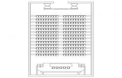 Auditorium Layout Plan