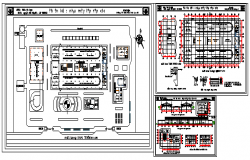 Auto mobile manufacturing plant design drawing