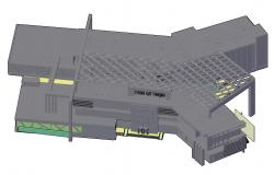 AutoCAD 3D Building Drawing