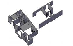 AutoCAD 3D Practice Drawing Tutorial