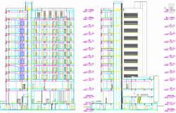 AutoCAD Design For 5 Star Hotel Building