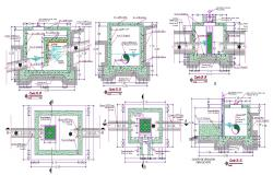 AutoCAD File RCC Water Tank Design With Working Drawing CAD File