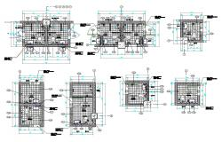 AutoCAD File Small Toilet Design Plan With Working Drawing