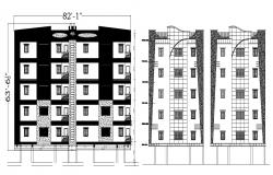 Autocad drawing of apartment