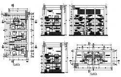Autocad drawing of bathroom design