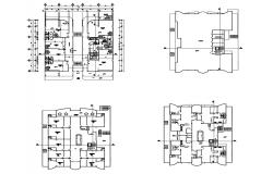 Autocad drawing of commercial building