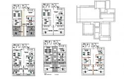 Autocad drawing of corporate office