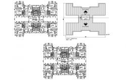 Autocad drawing of house with detail dimension