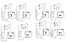 Autocad drawing of living area