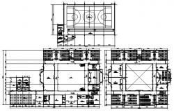 Autocad drawing of school layout