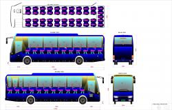 BUS SEATING LAYOUT