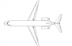 Back side view of aircraft details