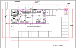 Bank branch plan layout detail dwg file