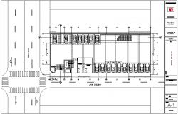 Basement plan for clinic dwg file