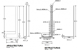 Basement wall construction details dwg file