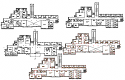 Basic Hospital dwg file