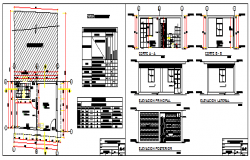 Basic module type own roof program design drawing