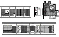 Bathroom Drawing CAD File Download