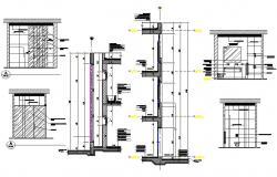 Bathroom Plan DWG File