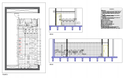 Bathroom architecture civil detail autocad dwg files