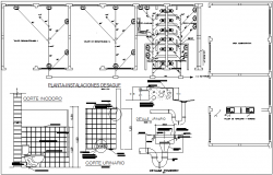 Bathroom washroom plan detail view and water plumbing pipe line detail view dwg file