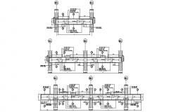 Beam Structural Drawings DWG File Free