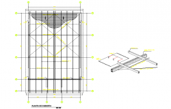 Beam plan and section layout file